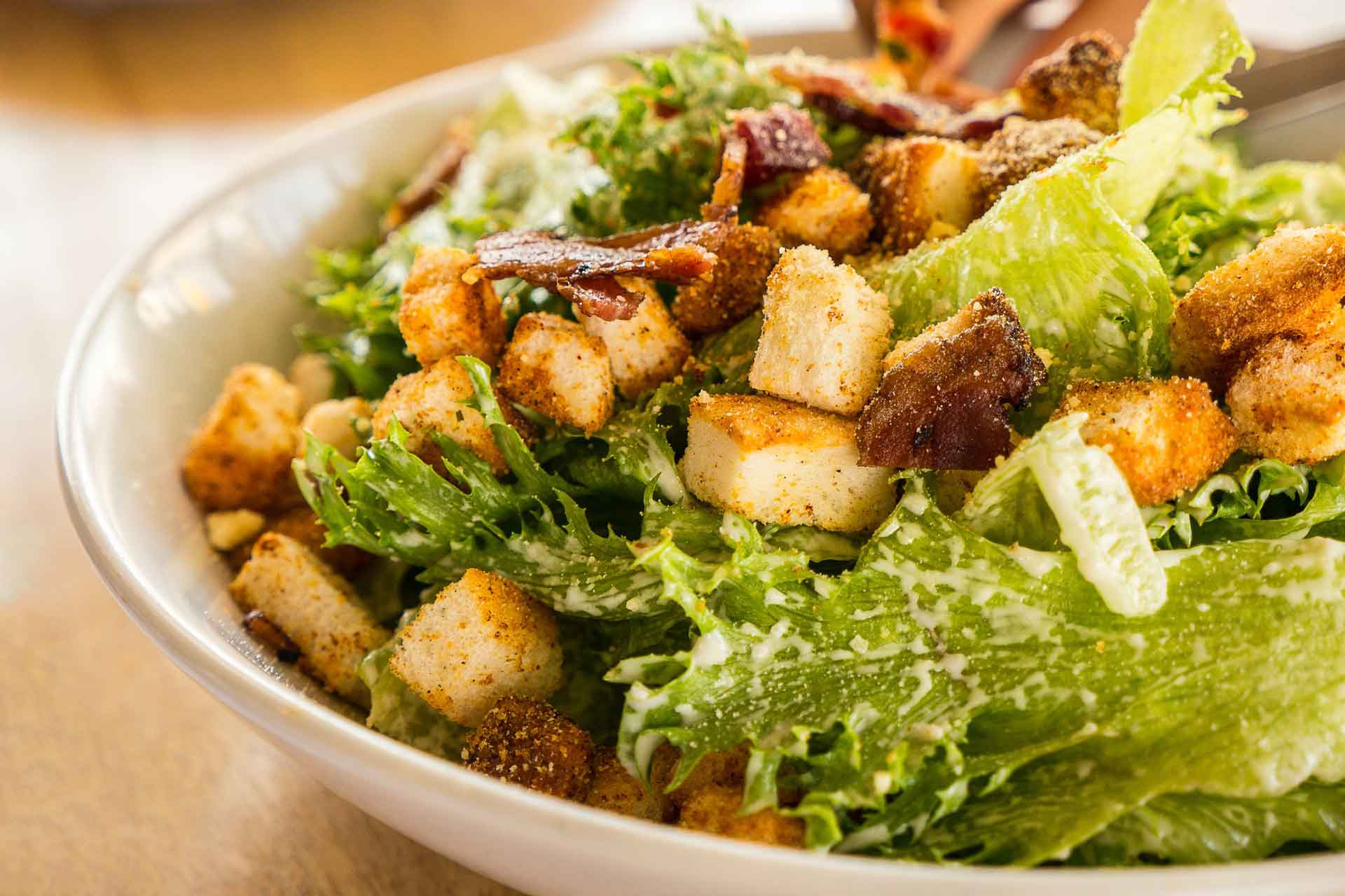 Caesar Salad Locatelli Cheese