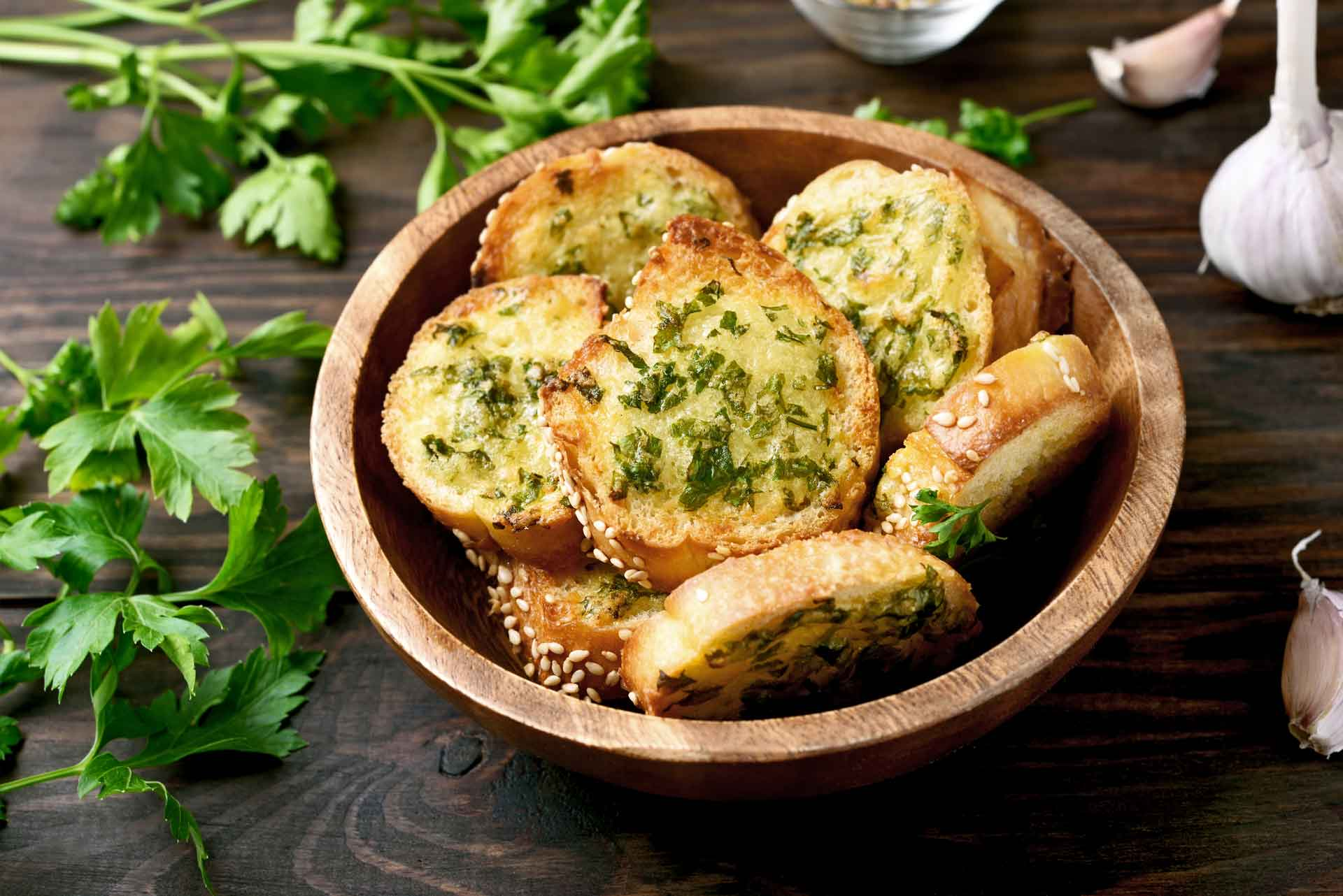 Locatelli Garlic Bread