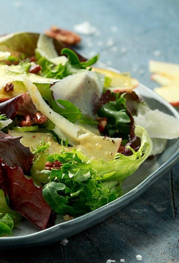 Locatelli Cheese on Salads