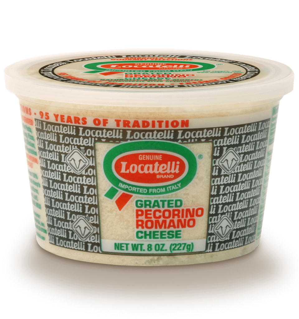 Locatelli Grated Pecorino Romano Cheese