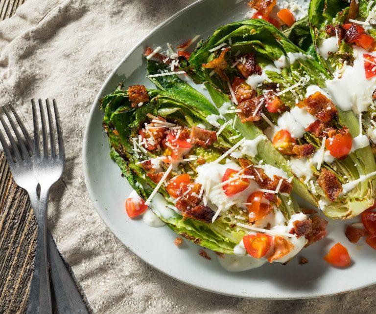 Charred Romaine Lettuce